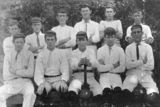 Picture relating to Southport - titled 'Second XI cricket team, The Southport School, 1908'