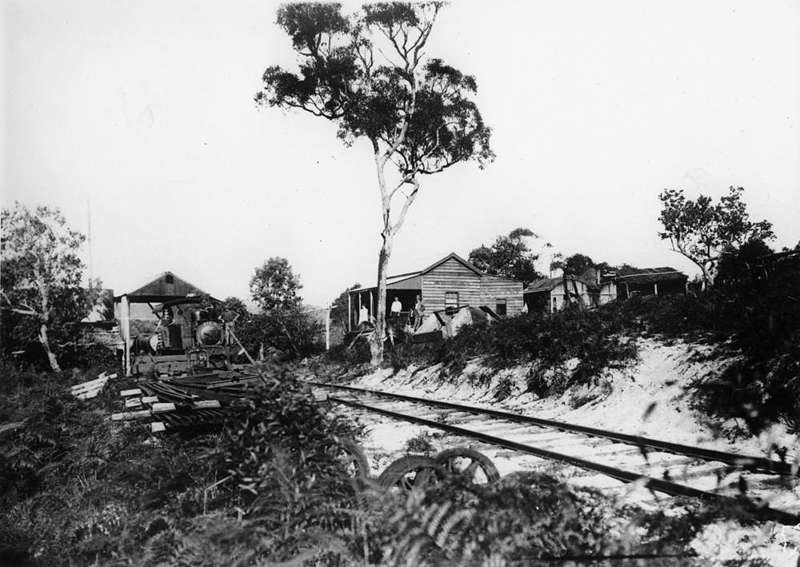 Picture of / about 'Fraser Island' Queensland - Bogimbah railway terminus on Fraser Island
