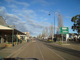Picture relating to Hillston - titled 'The main Street Hillston NSW'
