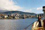 Picture relating to Hobart - titled 'Hobart Tasmania 1973'