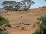 Picture of / about 'Orroroo' South Australia - Pekina station ruins - Orroroo