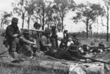 Picture relating to Kingaroy - titled 'Rifle shooting at the Kingaroy Rifle Club'
