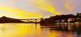 Picture relating to Gosford - titled 'Sunrise at The Rip Bridge - Ettalong.'