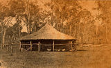 Picture relating to Mackay - titled 'Fowl house at 'The Hollow', Mackay, Queensland, ca. 1875'