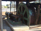 Picture relating to Norseman - titled 'Norseman Gold mine steam winch (view 1 of 3)'