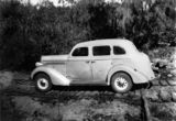 Picture relating to Wondai - titled 'Chrysler Plymouth touring sedan, 1936'