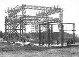 Picture relating to Kingston - titled 'Electricity Transmission Switch Yard at the Kingston Power Station'