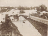Picture relating to Brisbane - titled 'Brisbane, Toowong Railway Station - 1893 floods'