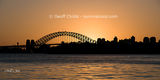 Picture relating to Sydney Harbour - titled 'Sydney Harbour Bridge Sunset photo panorama'