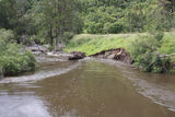 Picture relating to Mole River - titled 'Mole River at Mole Station Road bridge.'