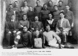 Picture relating to Roma - titled 'Wallaroo Rugby Union team from Roma, 1909'