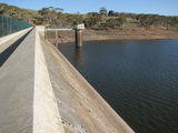 Picture of / about 'Lake Oberon' New South Wales - Lake Oberon Dam Wall