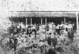 Picture relating to Kilcoy - titled 'Pupils, teachers and parents at Kilcoy State School, ca. 1898'