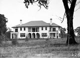 Picture relating to Deakin - titled 'Prime Ministers Lodge, Adelaide Avenue, Deakin, from the north.'