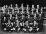 Picture relating to Sydney - titled 'Unbeaten Queensland Rugby League Representative Team, 1924'