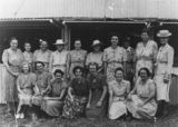 Picture relating to Springsure - titled 'Ladies in the Springsure Country Women's Association, 1948'