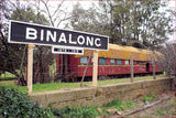 Picture relating to Binalong - titled 'Old Railway Station - Binalong - NSW'