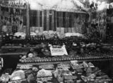 Picture of / about 'Brisbane' Queensland - First prize fruit and vegetable exhibit at the Royal National Association Show,Brisbane, Queensland, 1934