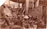 "Picture of / about 'Brisbane' Queensland - Brisbane, Diggers aboard ""The Fremantle""  WWI - 1917"
