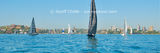 Picture relating to Sydney Harbour - titled 'Sydney Harbour yacht race. Art photo digital download '