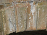 Picture relating to Towrang - titled 'Towrang Bridge Keystone showing 1839 - the year of construction'