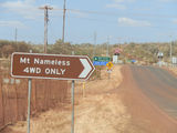 Picture relating to Mount Nameless - titled 'Mount Nameless sign at start of track'