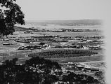 Picture relating to Duntroon - titled 'View from Red Hill over Manuka and Kingston to Duntroon. Collins Park in front.'