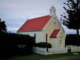 Picture relating to Low Head - titled 'Low Head Tasmania Historic Church'
