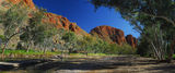 Picture relating to Trephina Gorge - titled 'Trephina Gorge panorama'
