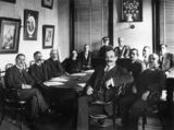 Picture relating to Toowoomba - titled 'Members of the Toowoomba City Council, ca. 1911'