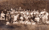 Picture relating to Brisbane - titled '1917 Torwood Sunday school group Brisbane Queensland'