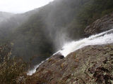 Picture relating to Nymboida River - titled 'Rob Roy Falls Nymboida River'