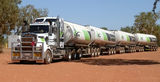 Picture relating to Kununurra - titled 'Roadtrain Kununurra WA'