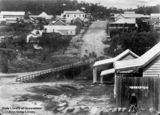 Picture relating to Herberton - titled 'View of the township of Herberton, Queensland, ca.1895'