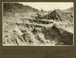 Picture relating to Mount Isa - titled 'Glory holes 1 to 6 looking south, Mt. Isa Mines, 1932'