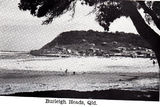Picture relating to Gold Coast - titled 'Burleigh Heads Qld 1940's'