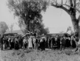 Picture relating to Pittsworth - titled 'Crowd attending Pittsworth Races , ca. 1912'