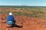 Uluru / Ayers Rock Contemplating Uluru from a distance.