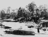 Picture of / about 'Stanthorpe' Queensland - Quart Pot Creek surrounded by granite rocks, Stanthorpe, ca. 1891