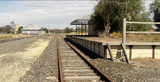 Picture relating to Minyip - titled 'Railway Station Minyip'