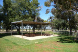 Picture relating to Parkes Radio Telescope - titled 'Parkes Radio Telescope Picnic Tables'