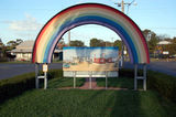 Picture relating to Rainbow - titled 'Rainbow East end of Federal St'