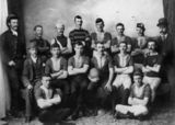 Picture relating to Warwick - titled 'Members of the Caxton Football Club, Warwick'
