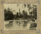 Picture relating to Mackay - titled 'Looking east across the river to Homebush Mill, Mackay, ca. 1895'