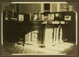 Picture relating to Bundaberg - titled 'Interior view of the Union Bank of Australia, Bundaberg. 1929'