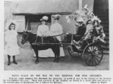 Picture relating to Queensland - titled 'Santa Claus on his way to deliver gifts to sick children, Queensland, 1905'