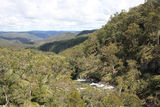 Picture relating to Ebor Falls - titled 'Guy Fawkes River valley'
