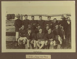 Picture relating to Talgai - titled 'West Talgai football team and coach, ca. 1890'