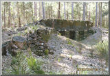 Picture relating to Diggers Creek Lode Mine - titled 'Lime Kiln Pipers Crekk'