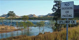Picture relating to Lake Argyle - titled 'Spillway Creek Lake Argyle'